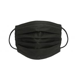 Premiumtex OP Maske in schwarz